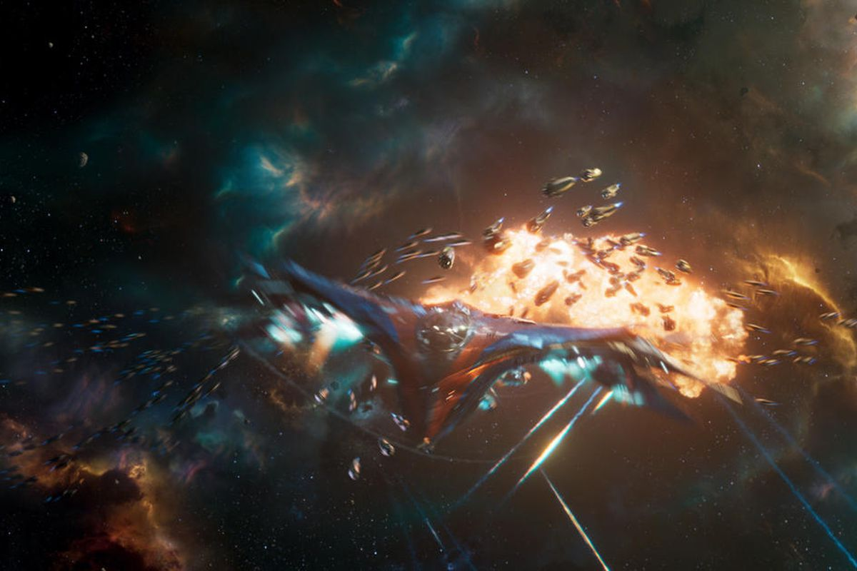 """The Milano in """"Guardians of the Galaxy Vol. 2."""""""