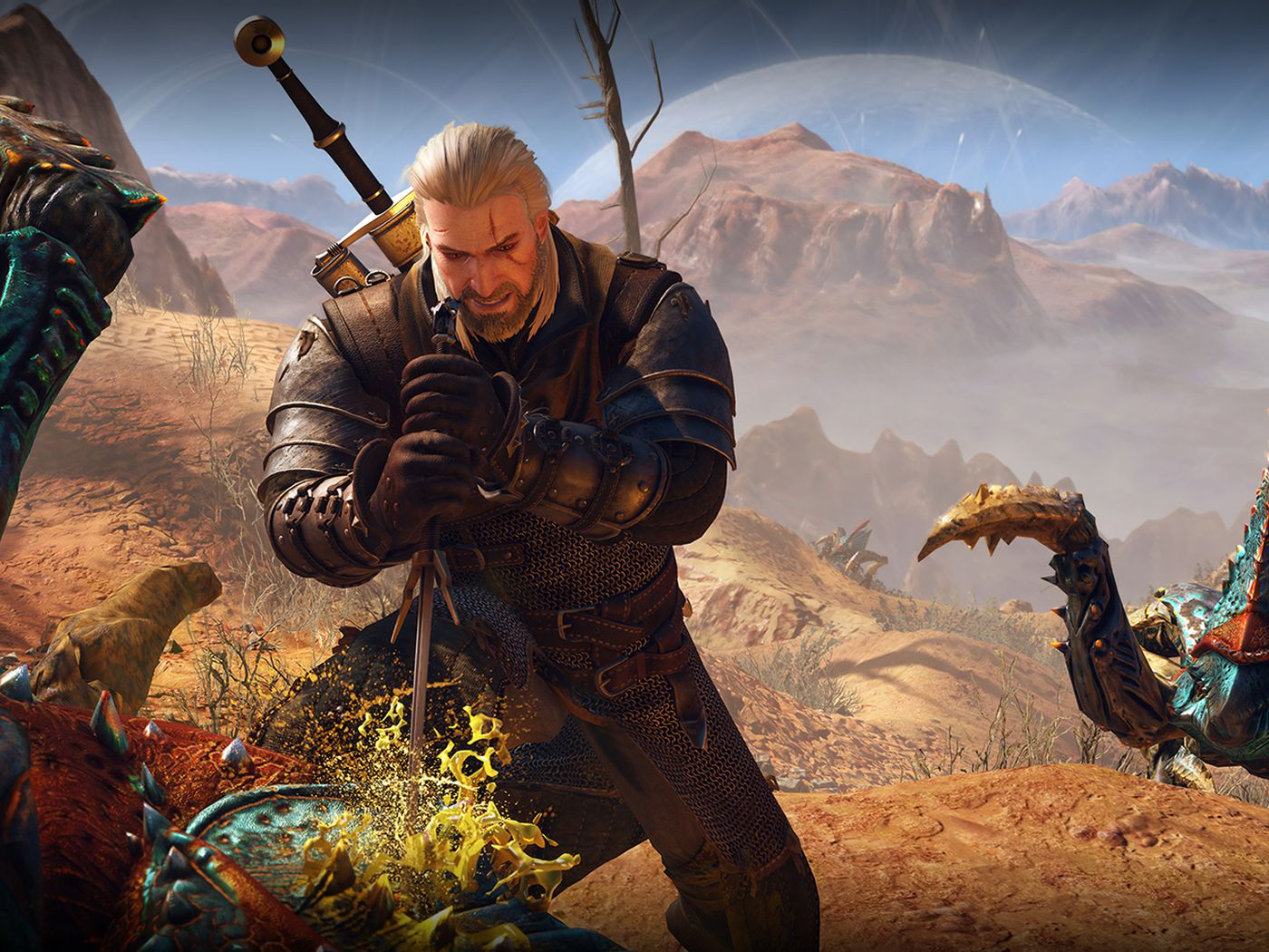 The Witcher 3's Xbox One X update adds 60 fps support, and it's
