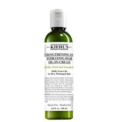"""<b>Kiehl's</b> Strengthening and Hydrating Oil-in-Cream, <a href=""""http://www.kiehls.com/on/demandware.store/Sites-kiehls_us-Site/default/Product-Show?pid=1230&bookmark=65354"""">$25</a>"""
