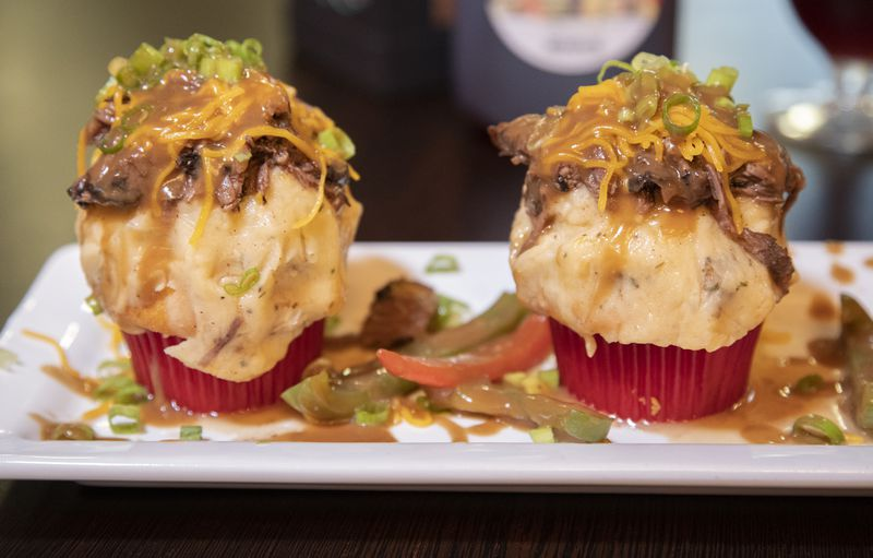 Pot roast cupcakes are served at Oooh Wee It Is.