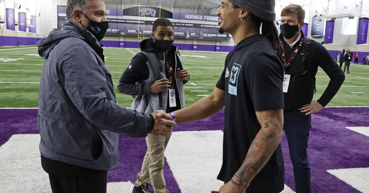 Horned Frog football players shine during TCU Pro Day