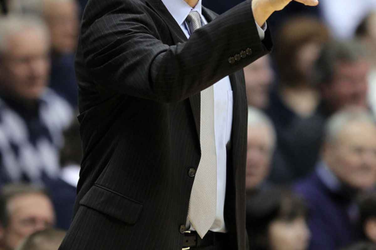 Chris Mack could count on that finger how many competent players were on the floor for Xavier tonight.