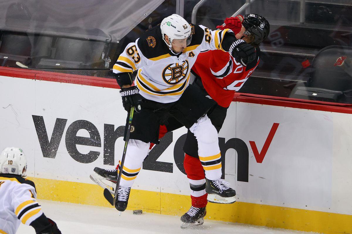 NHL: JAN 16 Bruins at Devils