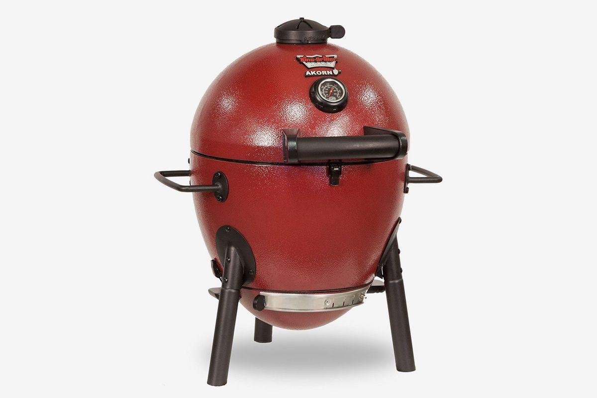 A ceramic, kamado-style Akorn grill