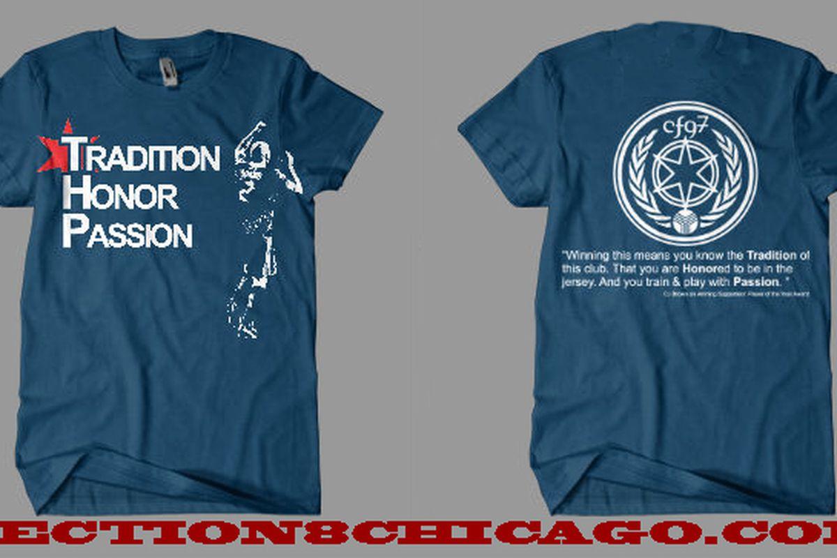 Said awesome C.J. Brown t-Shirt
