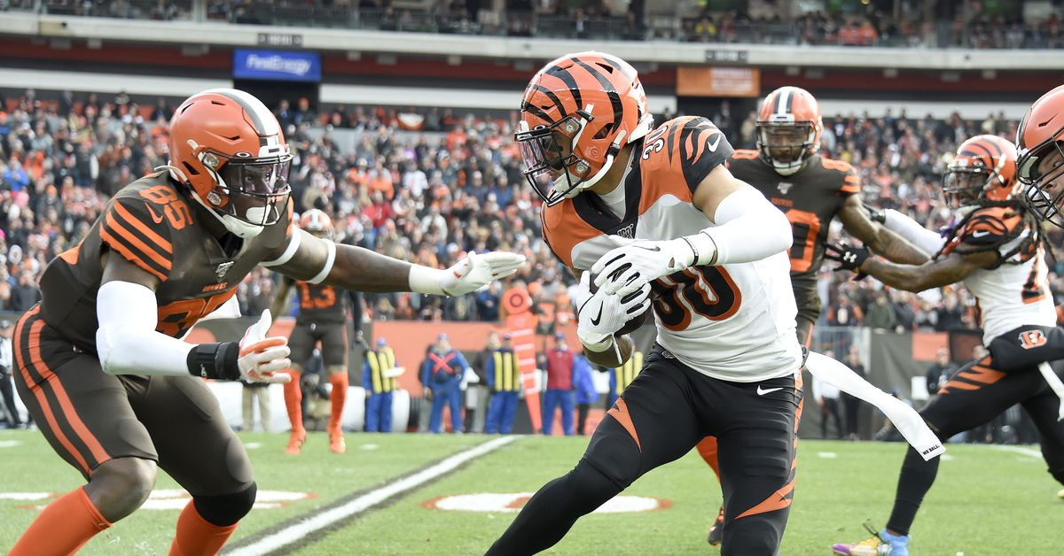 Bengals can't stop the run, lose to Browns 27-19