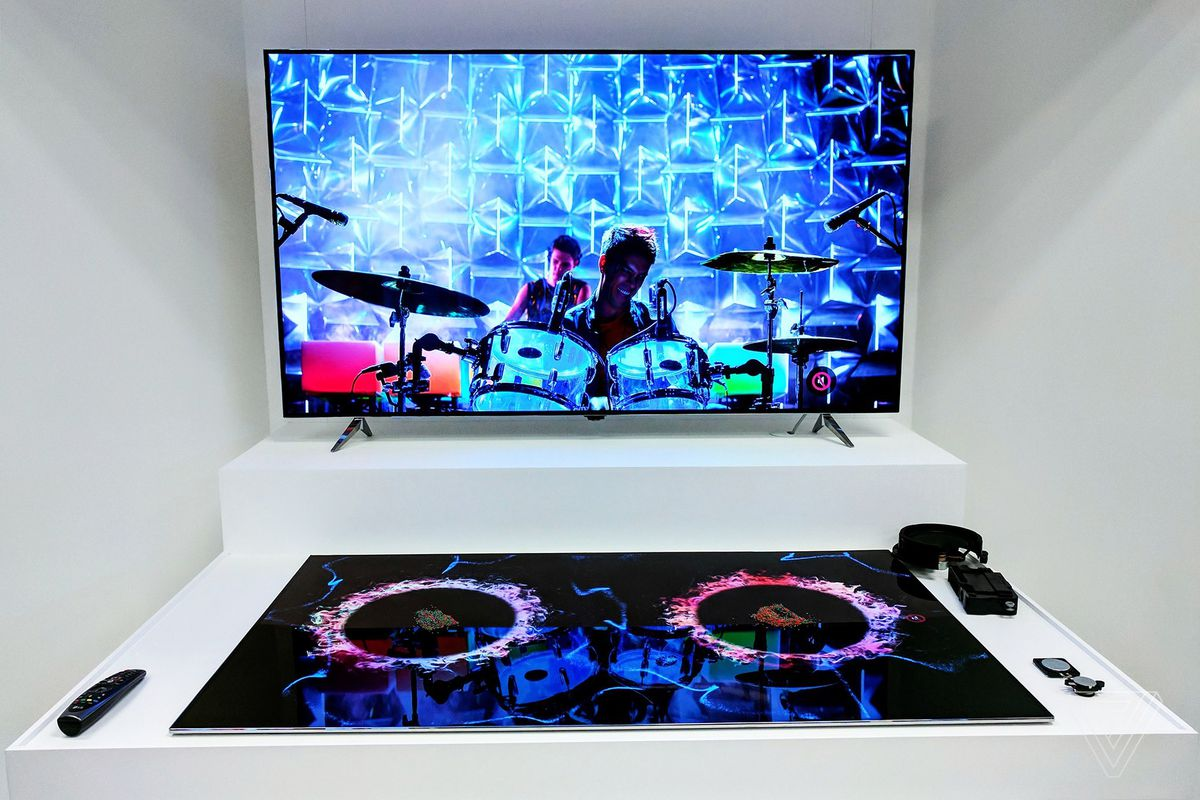 Sony S Wonderful New Oled Tv Is Mostly The Work Of Lg