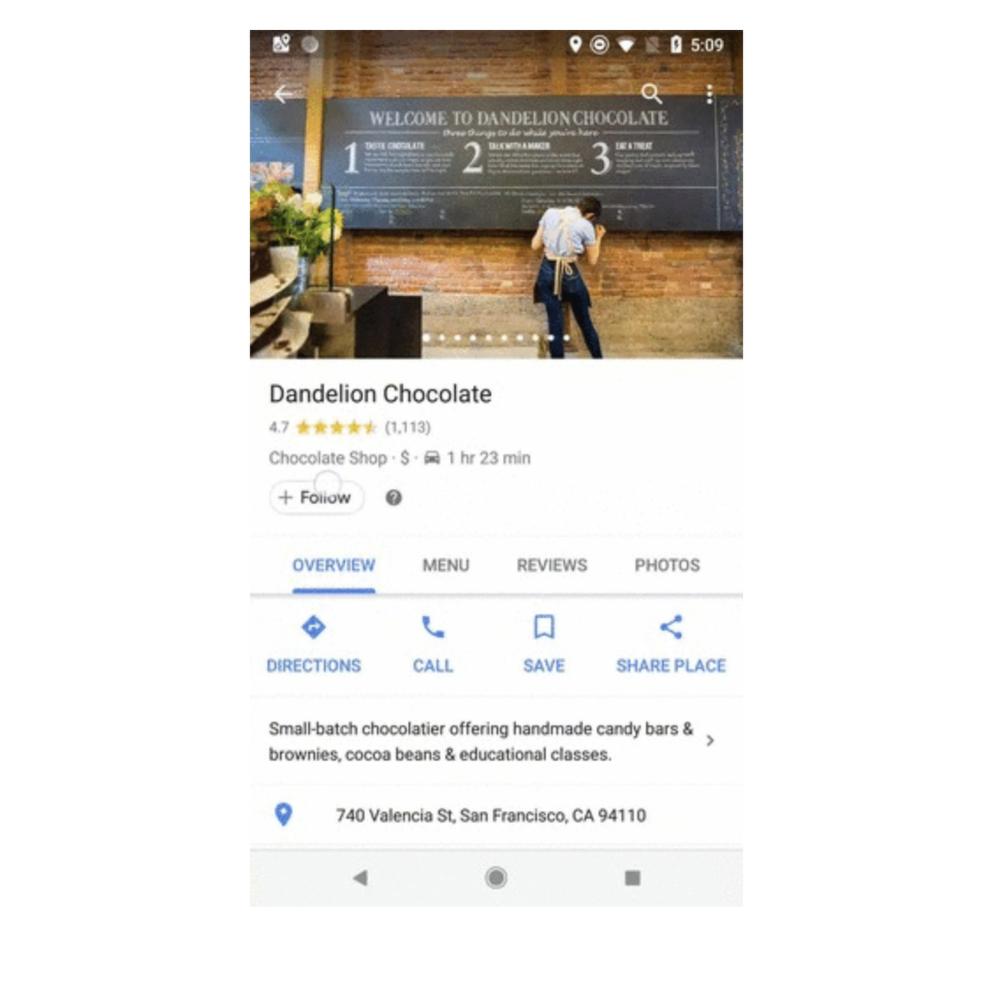 Google Maps now lets you 'follow' your go-to locations - The ... on mu map, ca map, mco map, northern europe map, central europe map, western europe map, osi map,