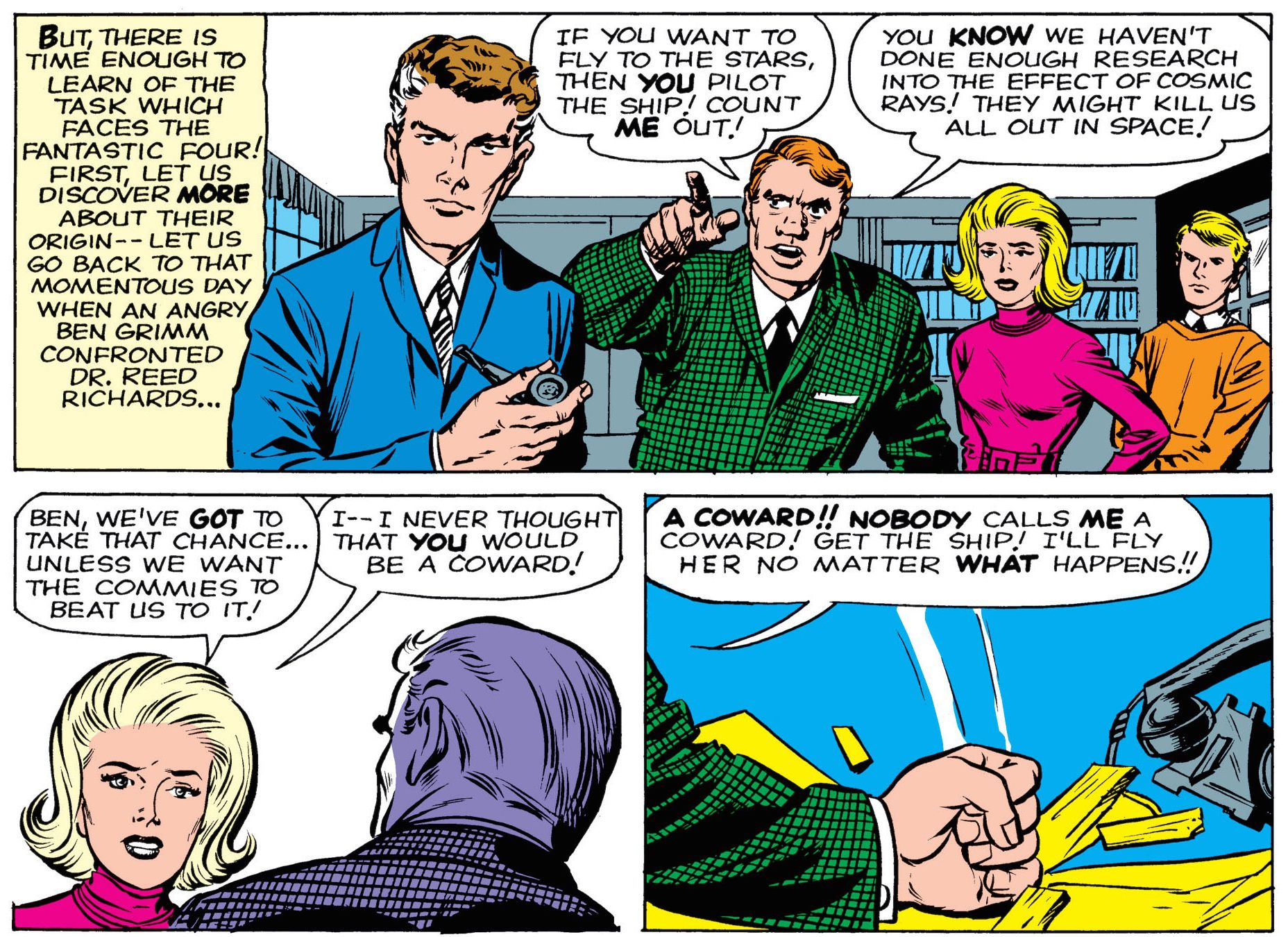 Fantastic Four, Jack Kirby