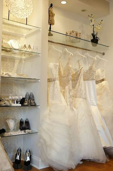 In The Gold Coast Bella Bianca Bridal Couture 12 West Maple Street Is Owned By A Team Of Sisters Melissa Russell And Natalie Bauer