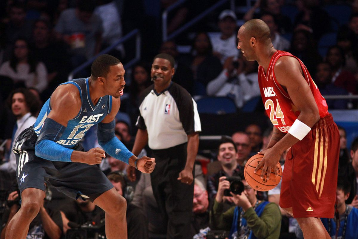 """Kobe: """"What?  You think you can whine and pout your way into getting the ball from me?  Silly center."""""""