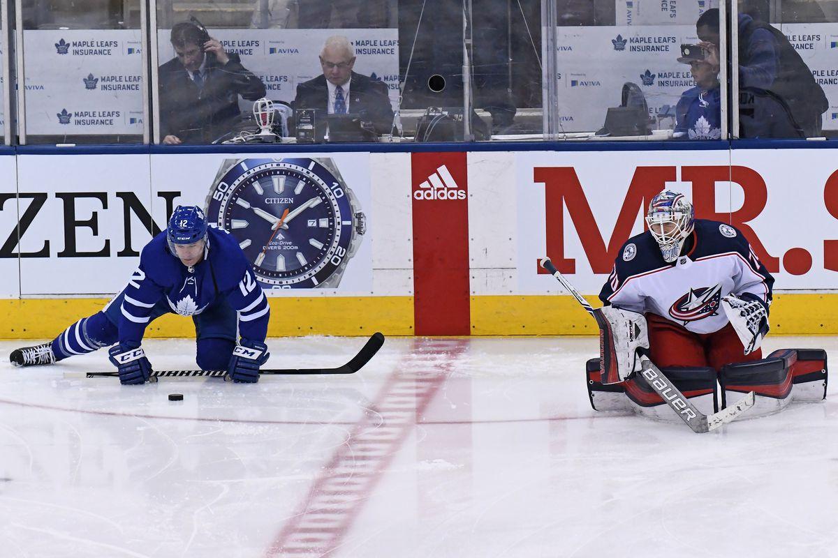 NHL: JAN 08 Blue Jackets at Maple Leafs