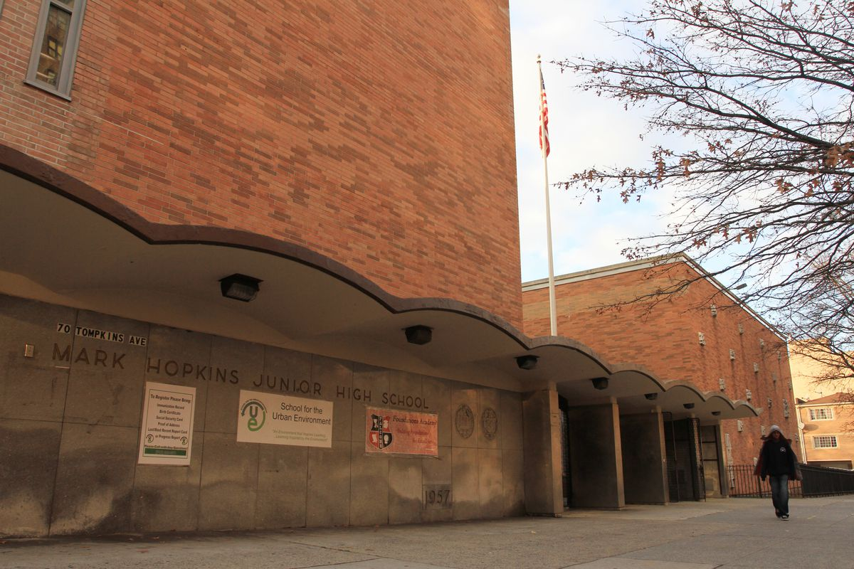 The city is planning to close The School for the Urban Environment and Foundations Academy, which share a building in Bedford-Stuyvesant. Officials also proposed closing Peace Academy Middle School.