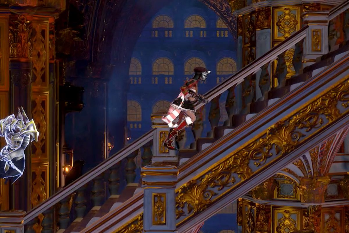 Bloodstained: Ritual of the Night Hall of Termination map