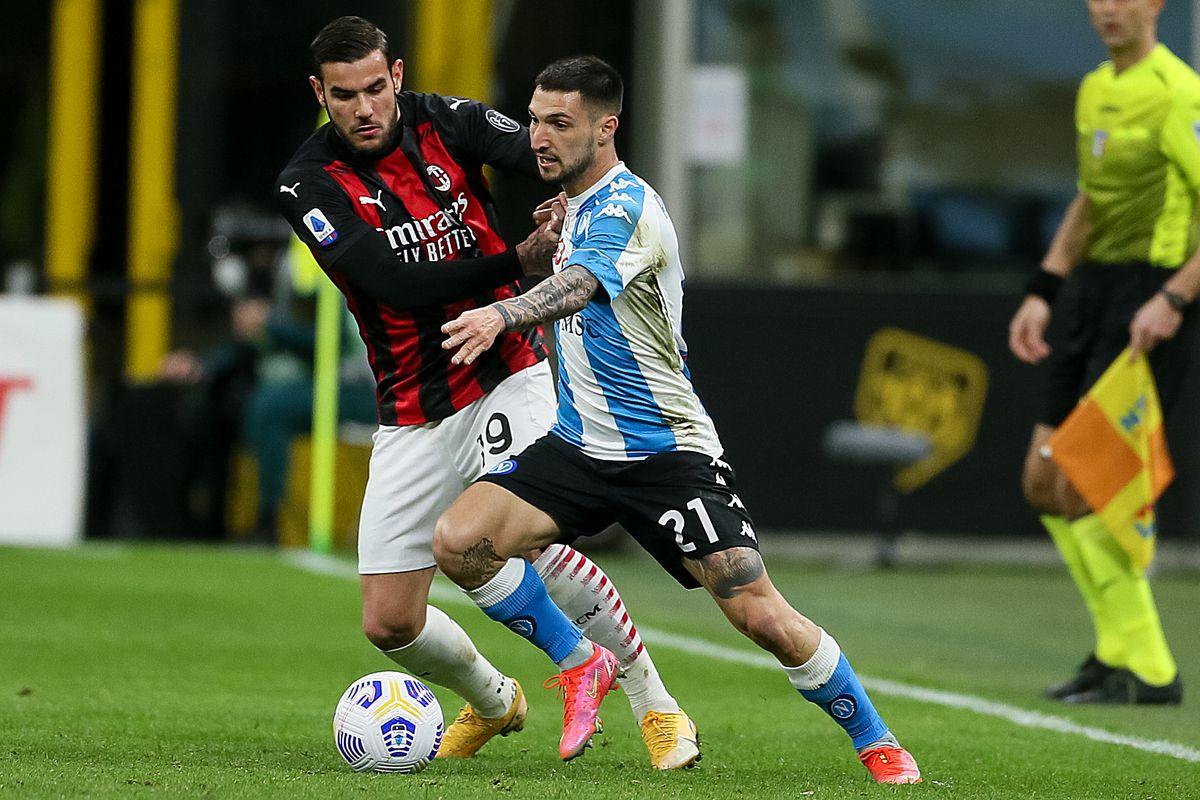 AC Milan v Napoli - Serie A