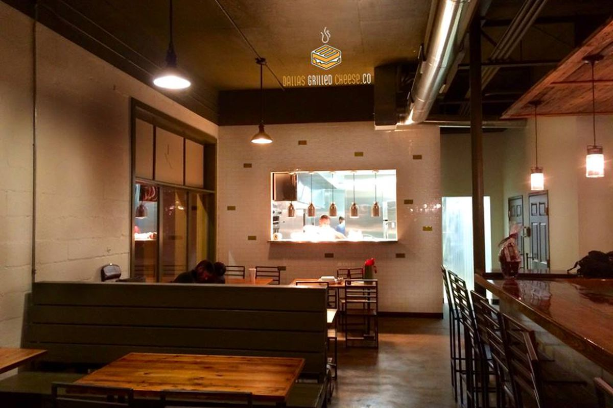 Dallas Grilled Cheese Co. is almost ready to roll in Bishop Arts.
