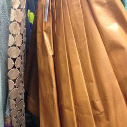 $233 leather skirt