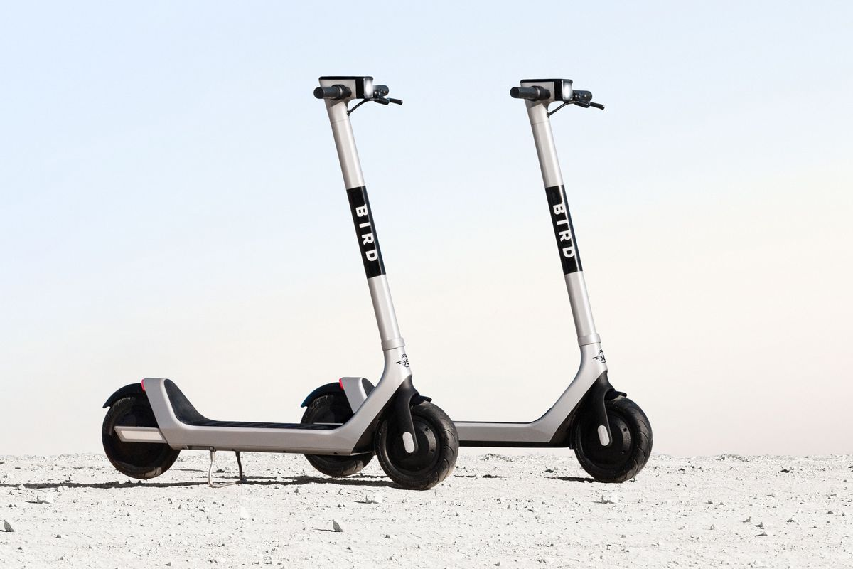 Bird's new electric scooter has a better battery and anti