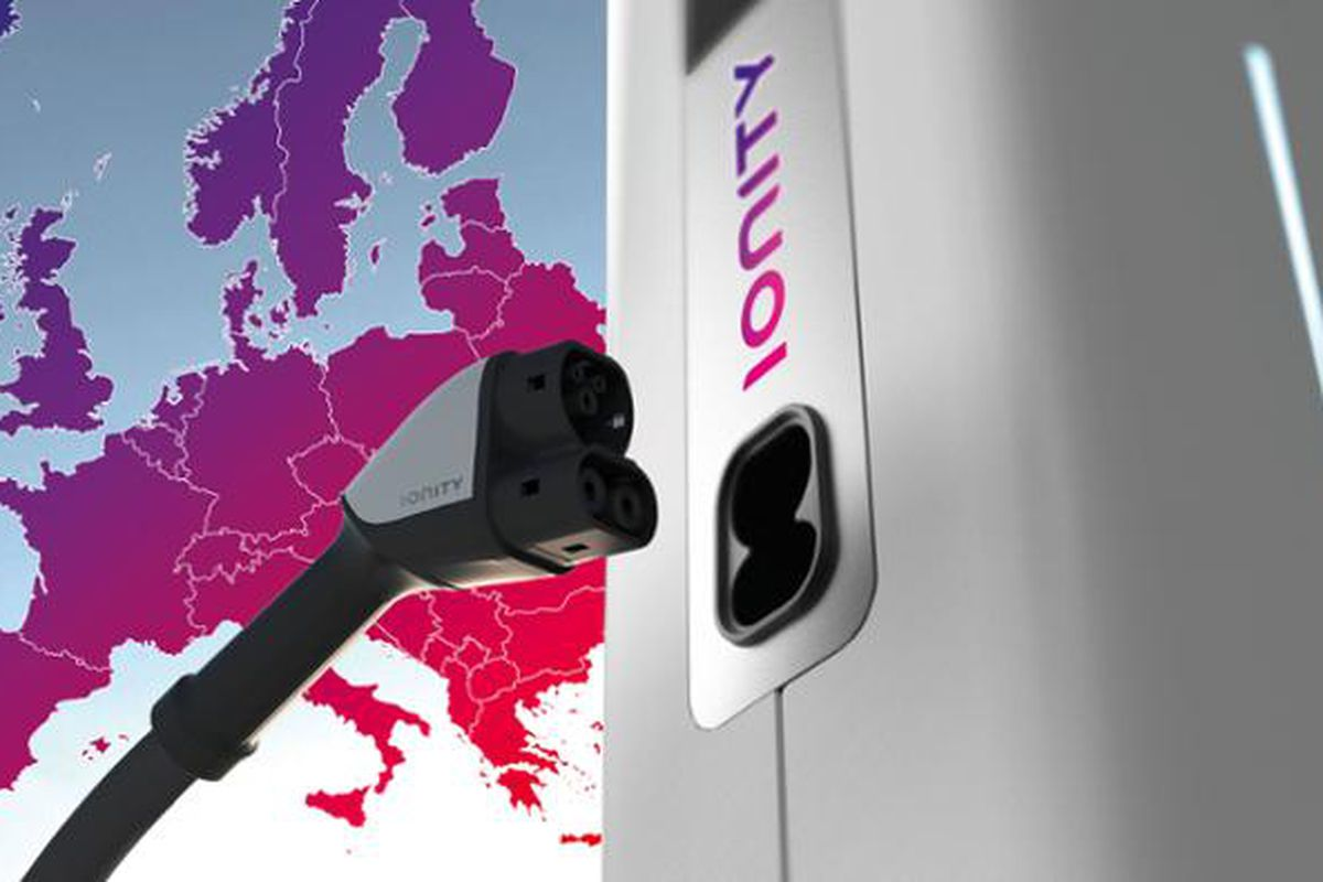 Vehicle manufacturers develop high speed EV charging network