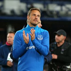 Jagielka got to bid Goodison adieu with a cameo appearance in the last home game of 2018-19