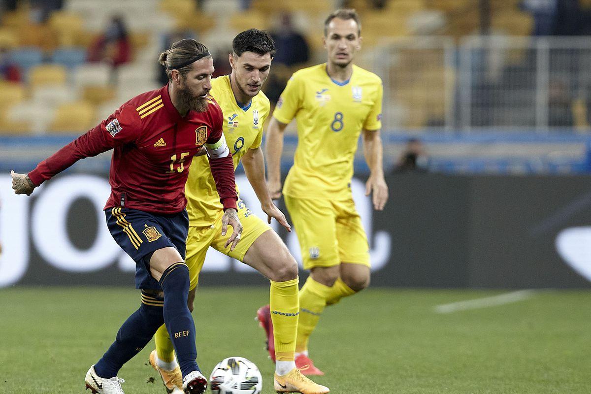Ukraine v Spain - UEFA Nations League