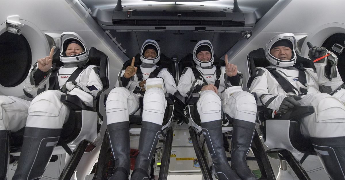 SpaceX Crew Dragon Resilience safely returns four astronauts to Earth – The Verge