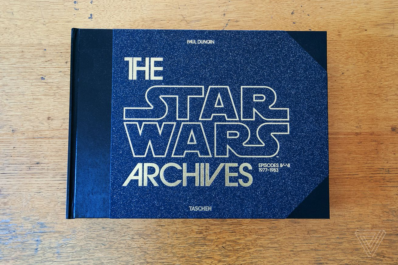 the star wars archives is a monster behind the scenes book