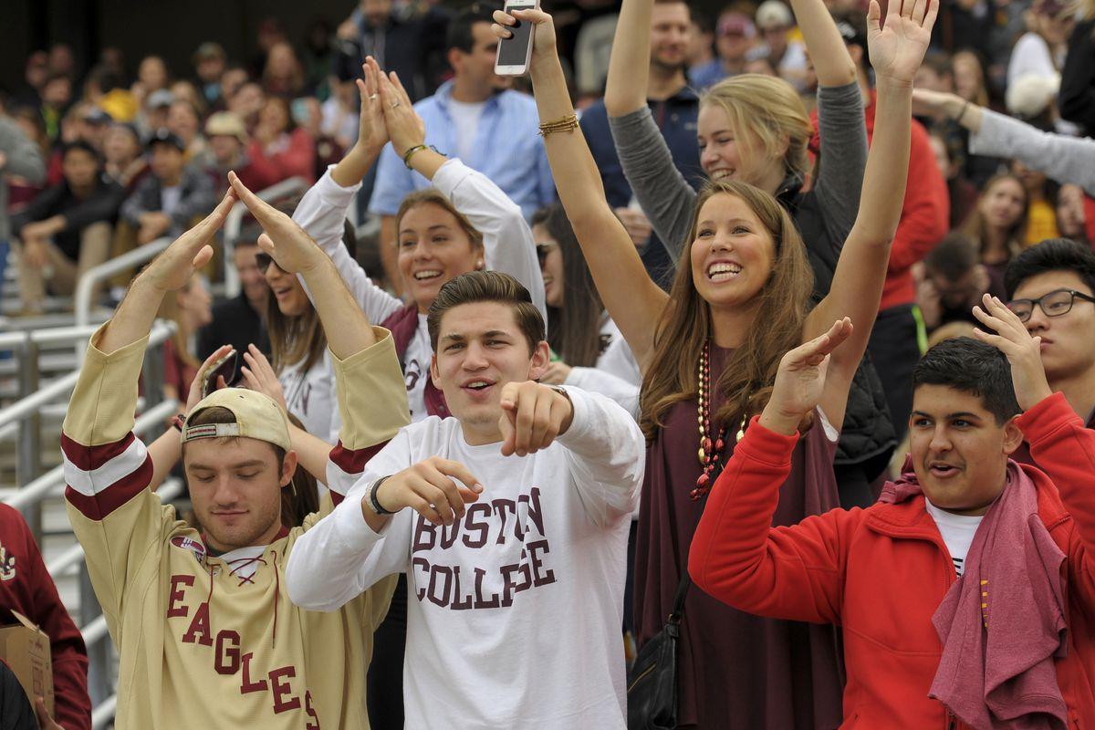 NCAA Football: North Carolina State at Boston College