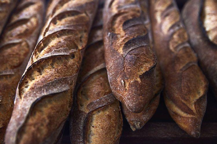 Baguettes at Saraghina Bakery, Bedford-Stuyvesant