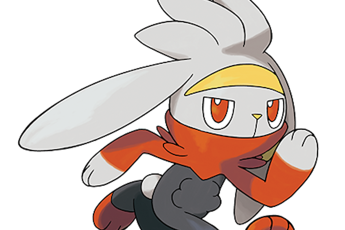 The fire starter Pokémon in Sword and Shield.