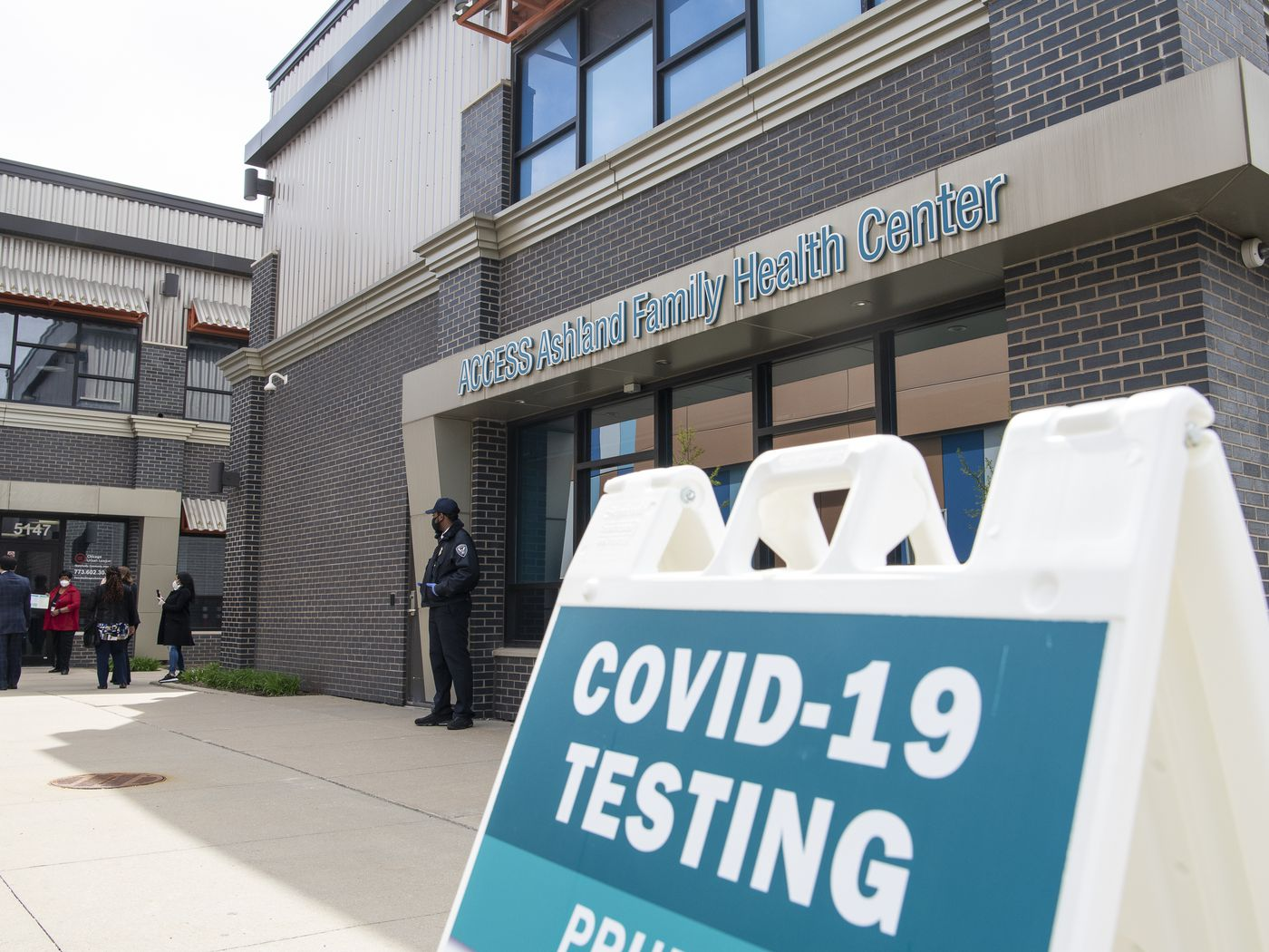 Coronavirus Testing Site Opens In Back Of The Yards Chicago Sun Times