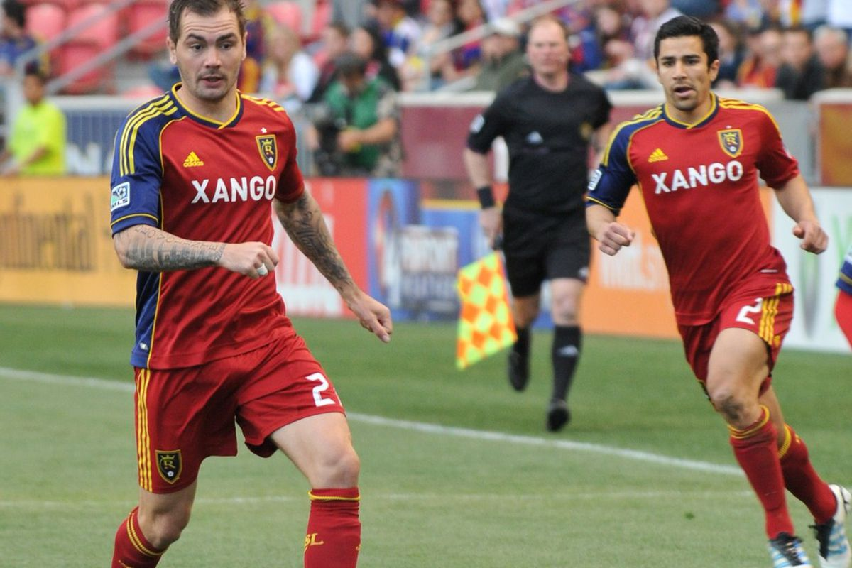 Could we see Jonny Steele with another late game winning goal for Real Salt Lake as they take on the Chicago Fire at Toyota Park on Wednesday? Never say never. (photo by me)