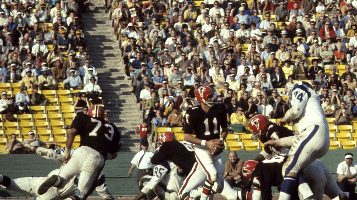Atlanta Falcons vs Los Angeles Rams - December 3, 1967