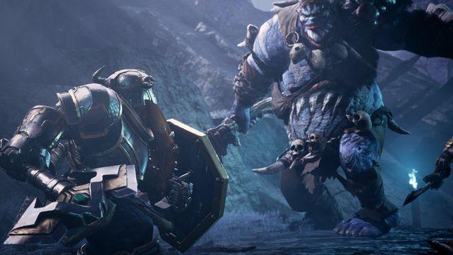 Buenor Battlehammer goes up against a Verbeeg