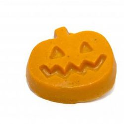 "<a href=""http://www.lushusa.com/shop/products/bath-shower/soap/pumpkin-"" rel=""nofollow"">Lush Pumpkin Hand and Body Soap</a>: $6.95"