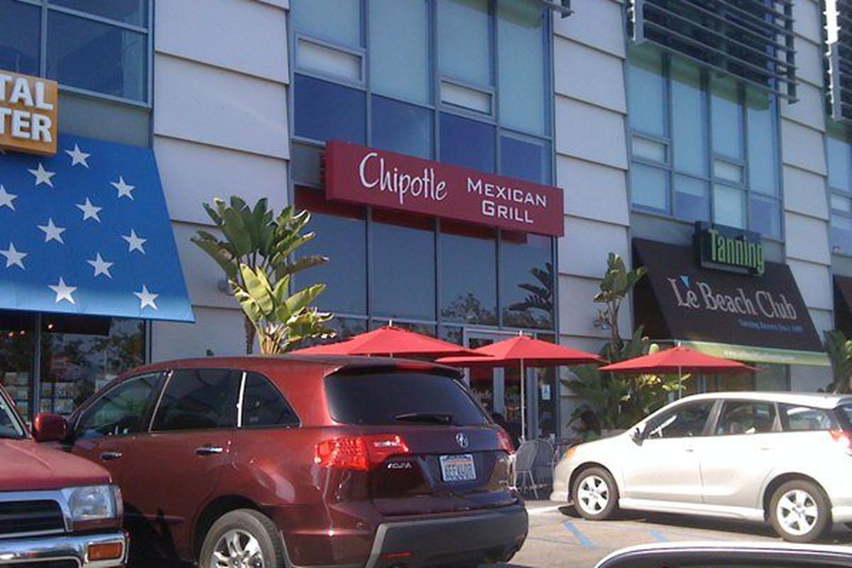 Chipotle nearby the Grove on Fairfax