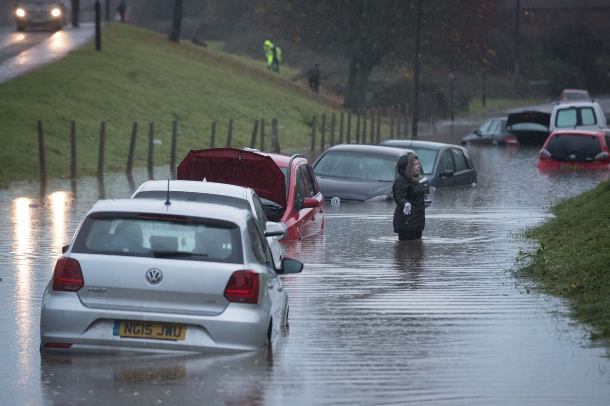 Met Office Issue Severe Weather Warnings After A Weekend Of Storms