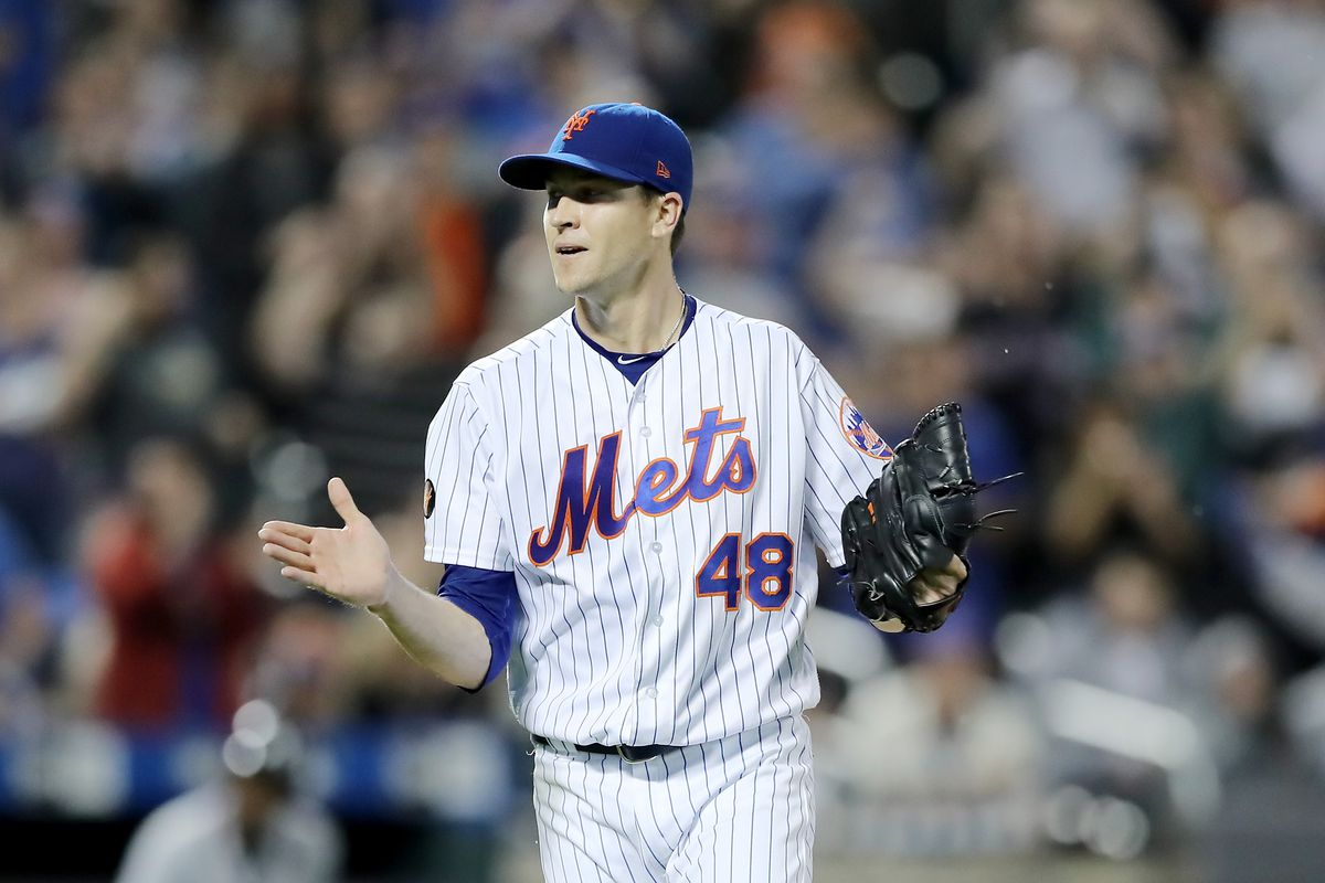 c22116114 Jacob deGrom won the Cy Young with one of the greatest