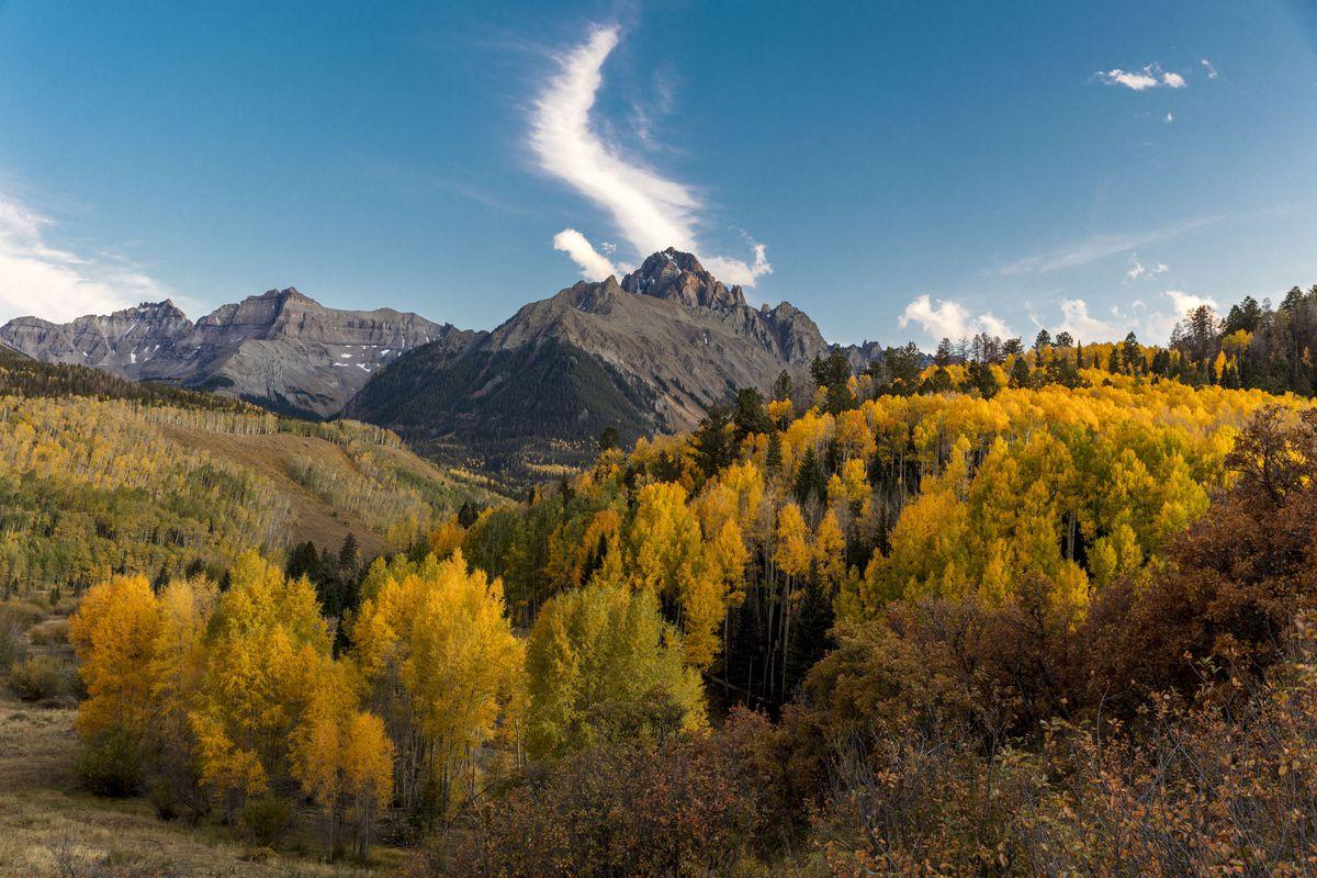 San Juan Mountains In Autumn, near Ridgway, Colorado