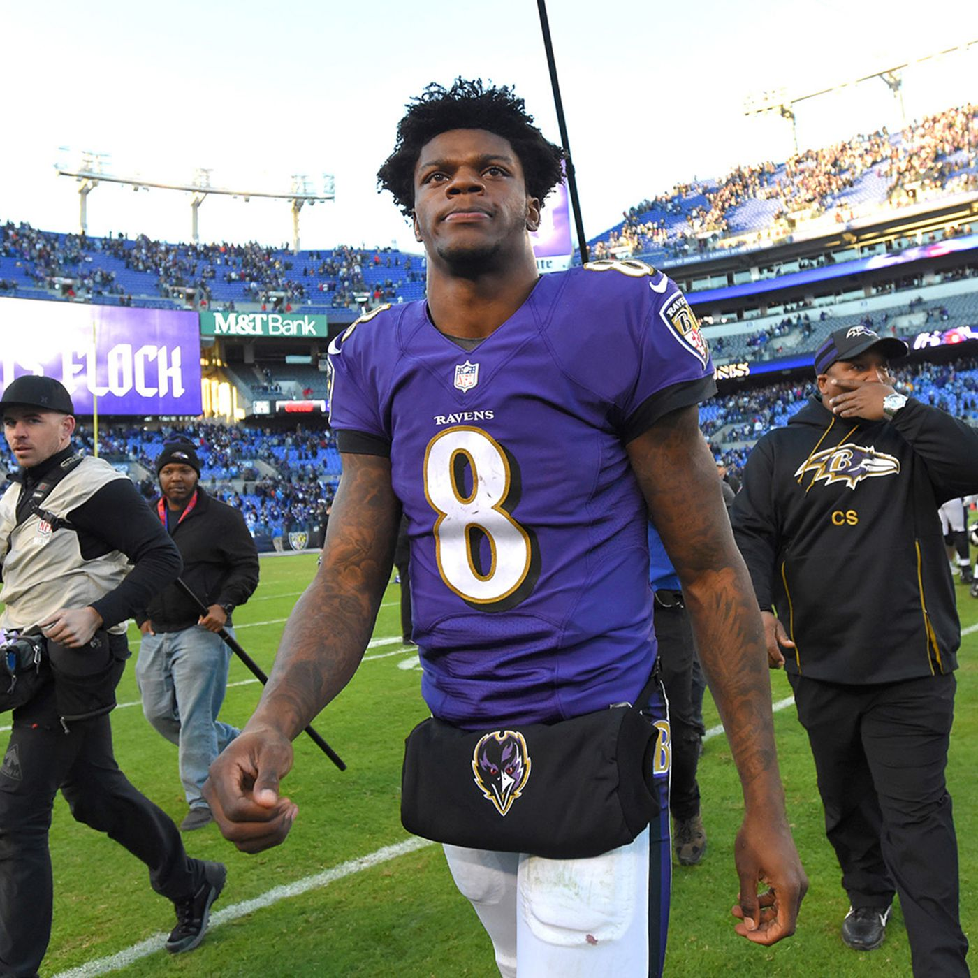 buy popular 74239 c0392 5 ways the Ravens can help Lamar Jackson avoid the sophomore ...