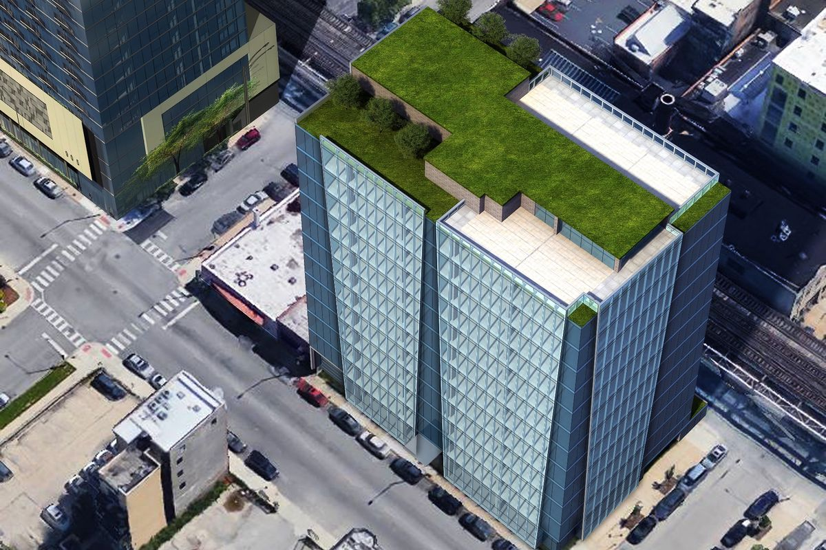 A Closer Look At The Glassy Office Tower Proposed For