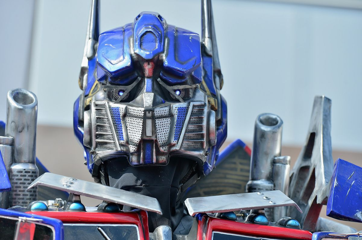 Transformers The Ride - 3D Grand Opening Celebration