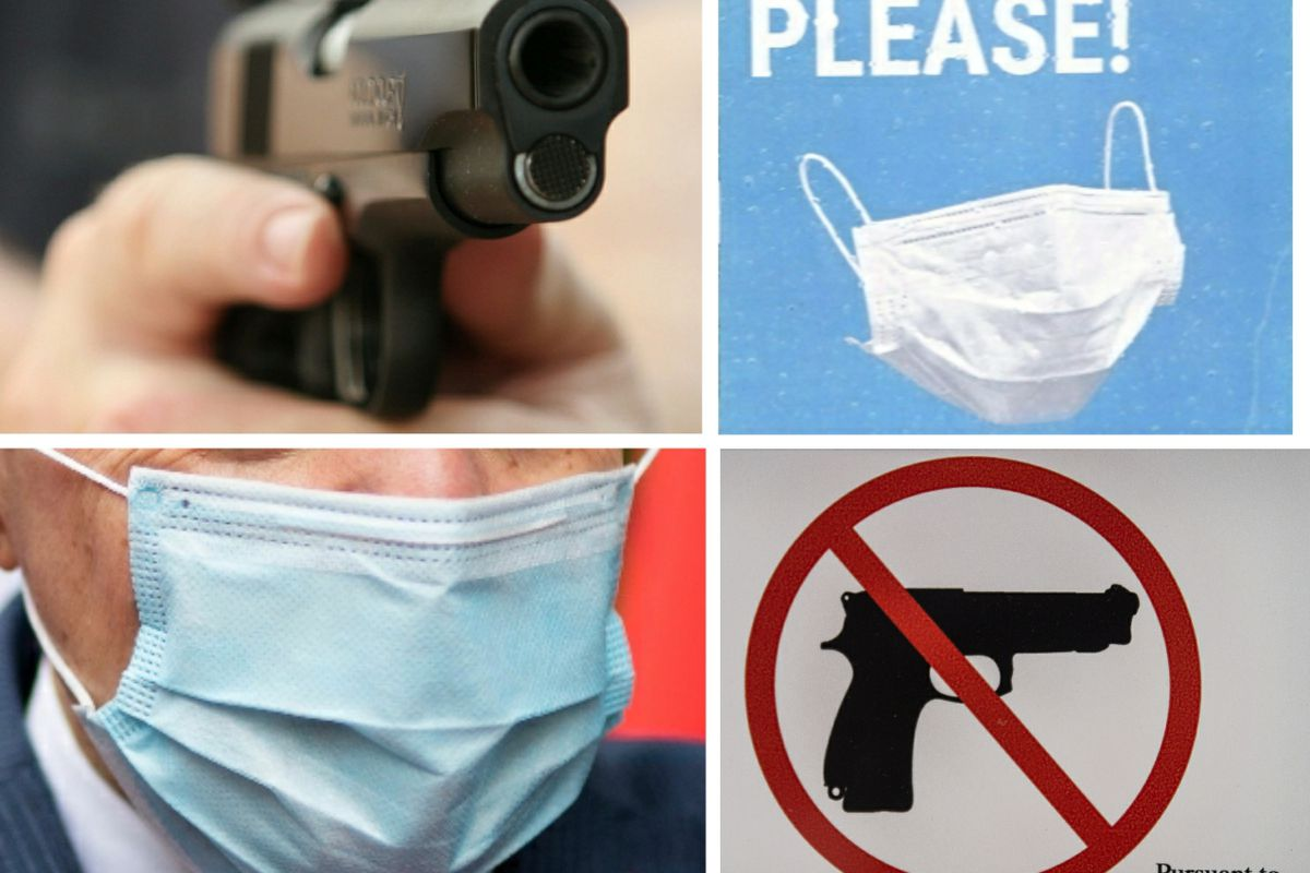 Fact Check Conceal Carry Permit Holders Can Legally Carry Firearms While Wearing Covid 19 Masks Chicago Sun Times