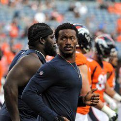 Broncos WR Demaryius Thomas got the night off for preseason game two.