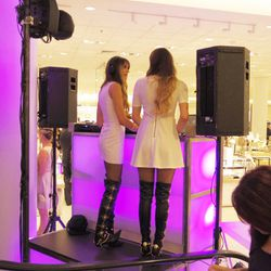 DJ Posso's snap-worthy over-the-knee boots.