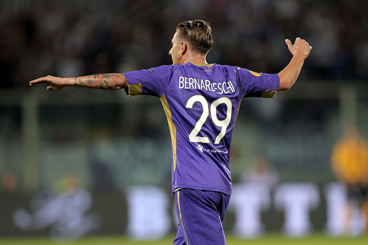 Bernardeschi surprised with the goal of the match. Photo