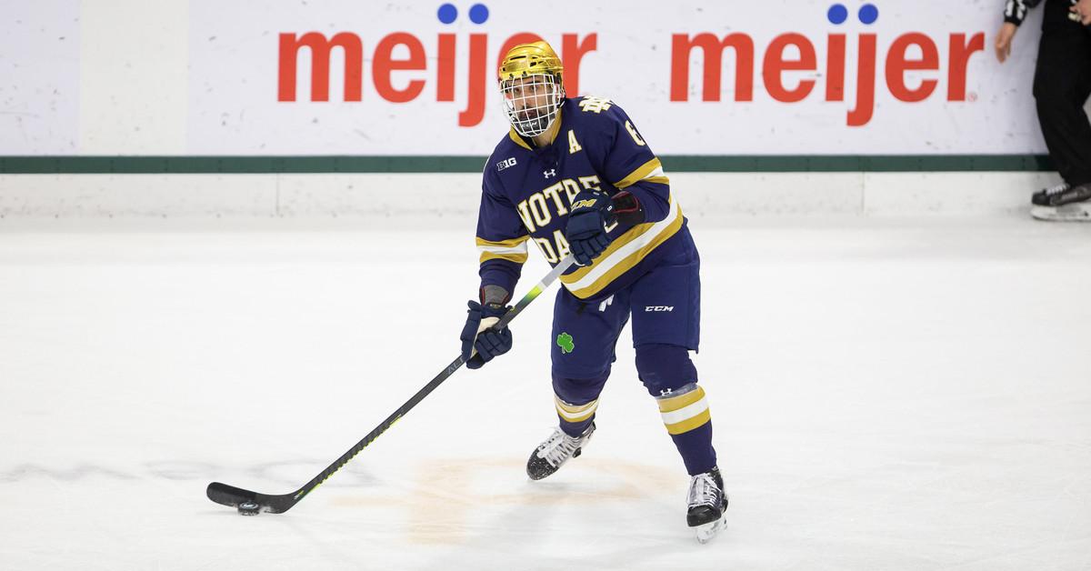 Notre Dame Hockey: Irish get it done 2-1 over Michigan in Ann Arbor