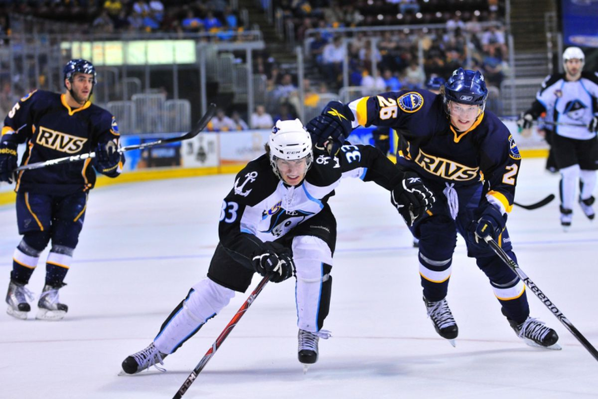 Your Peoria Rivermen take on the Milwaukee Admirals in a key AHL Midwest Division matchup tonight.
