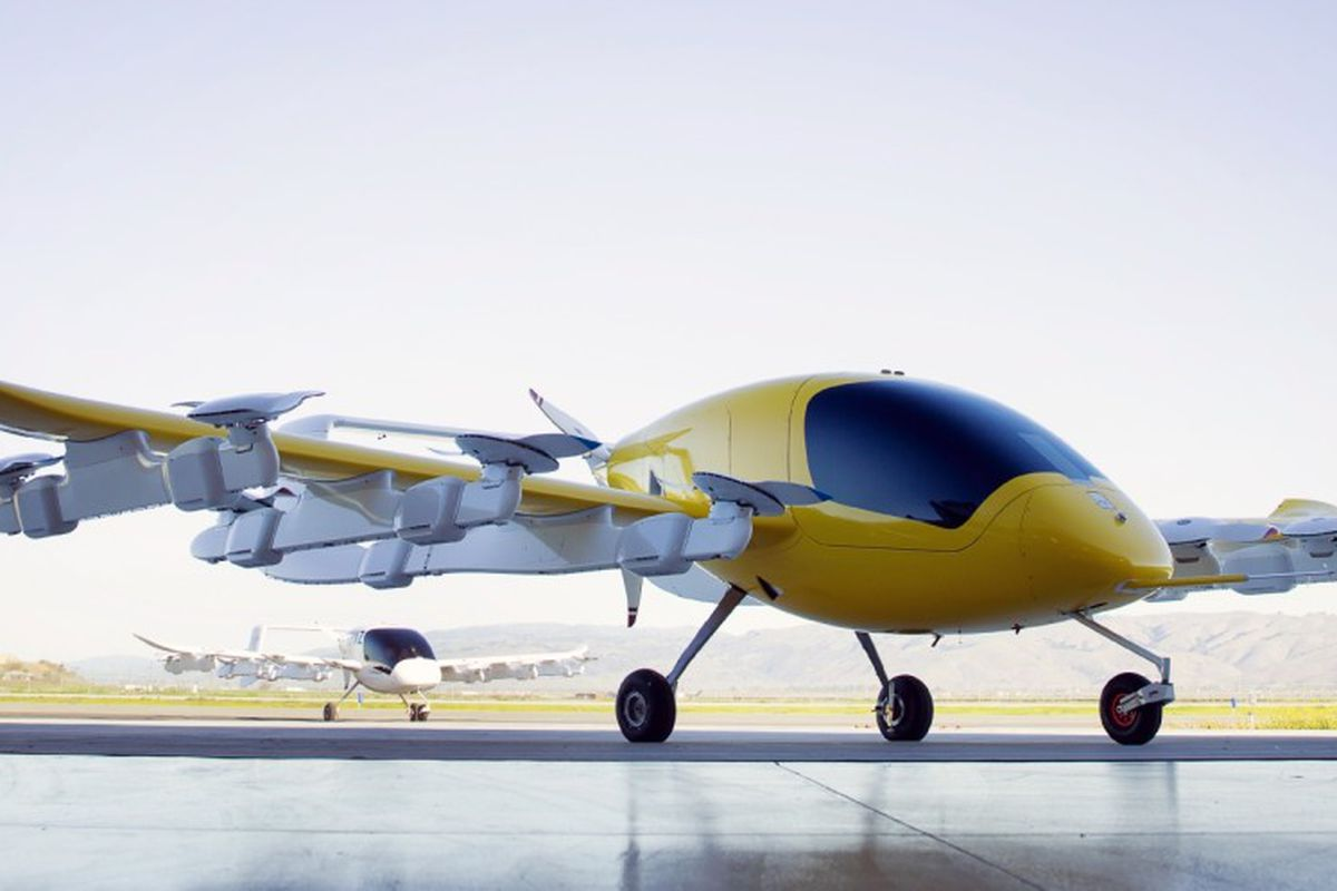 Worlds Fastest Car >> Larry Page's flying taxis approach regulatory approval in ...