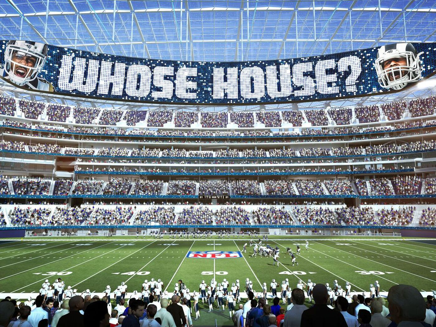 e219d603 LA Rams to begin offering Premier, Reserved seating for new stadium ...